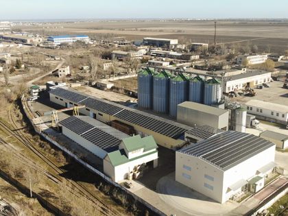 Industrial feed-in tariff, 0,62MW Kherson region