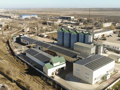 Industrial feed-in tariff, 0,62MW Kherson region